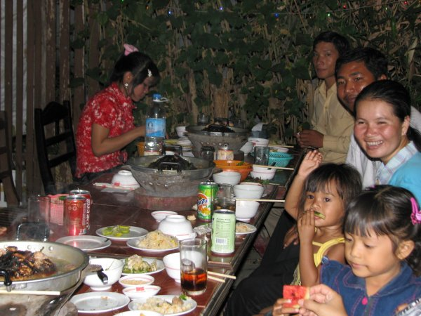 Children and families came to the Teachers' party