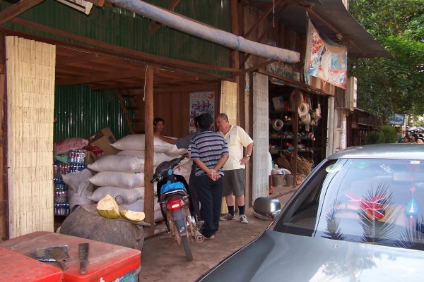 Shopping for rice