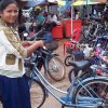 A bike will enable her to get from khvein into Siem reap for High School.